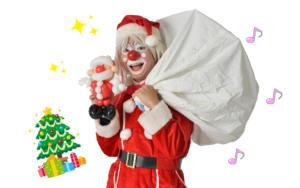 クリスマスパーティー マジック ピエロ タレント派遣